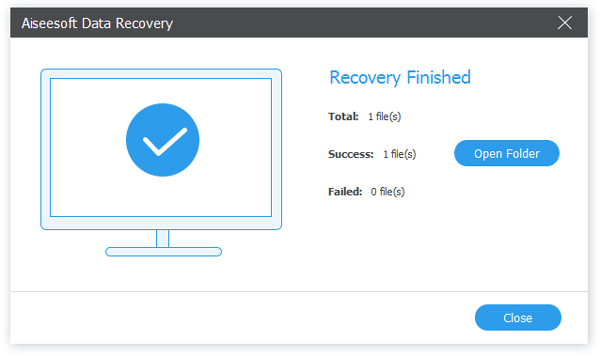 recover success